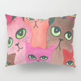 Richmond Whimsical Cats Pillow Sham