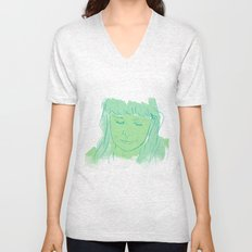 Alessi's Ark, another portrait I made, for purchasing here Unisex V-Neck