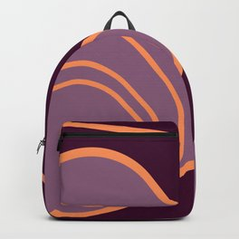 Crossing The Path - Mid-Century Modern Backpack