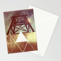 Elemental Framework Stationery Cards