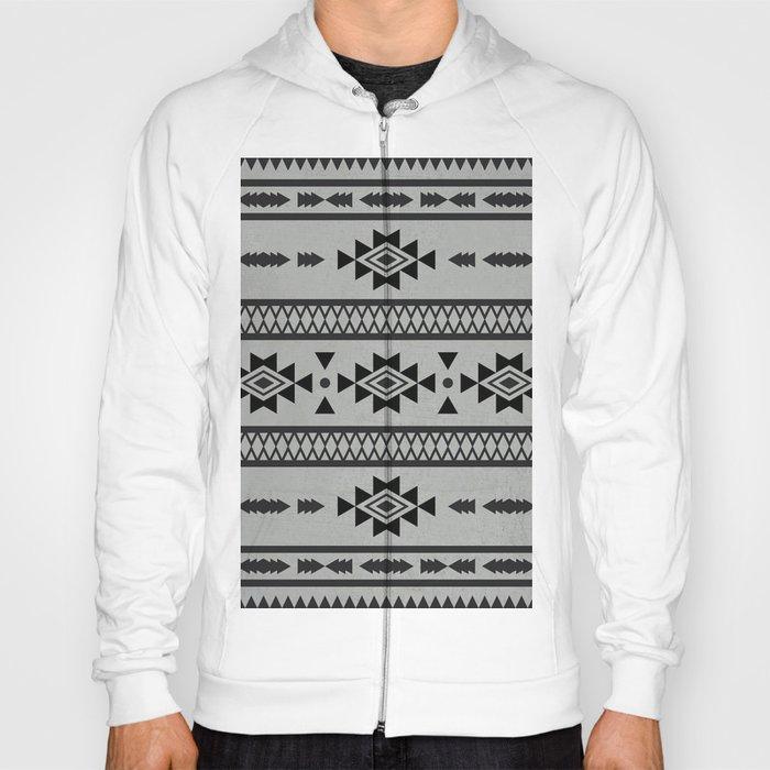 40401d415fbd85 Abstract Tribal Native Geometric Pattern Hoody by pelaxy