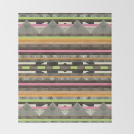 DG Aztec No. 2 Throw Blanket
