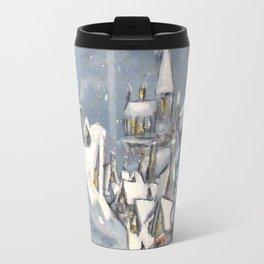 Snowy Hogsmeade Travel Mug