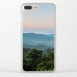 The Morning Mists Clear iPhone Case