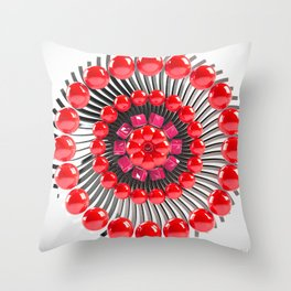 Candy pie Throw Pillow