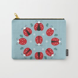 Nine Ladies Dancing Carry-All Pouch