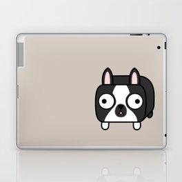 Boston Terrier Loaf - Black and White Dog Laptop & iPad Skin