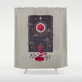 It was built for us by future generations Shower Curtain