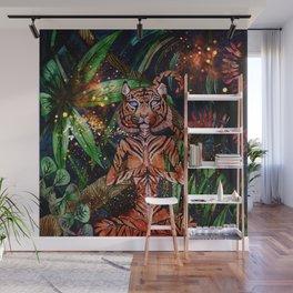 Mystic Tigress Wall Mural