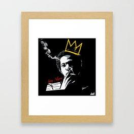 KING SKYWISE Framed Art Print