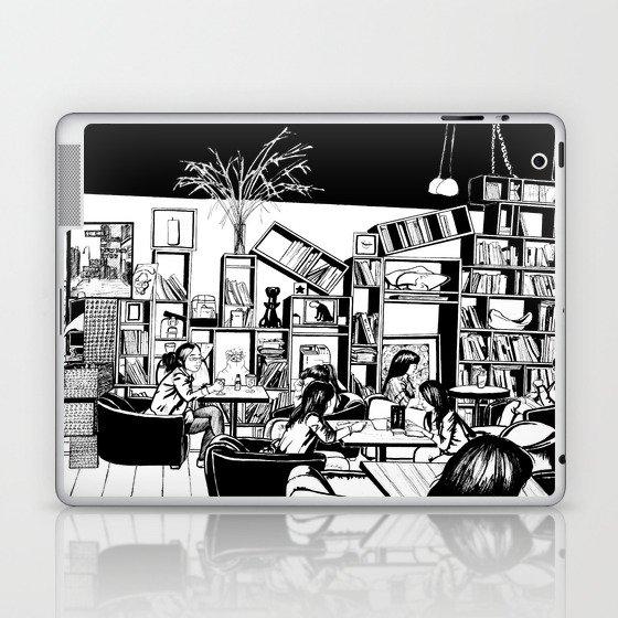 Cafe in Beijing  Laptop & iPad Skin