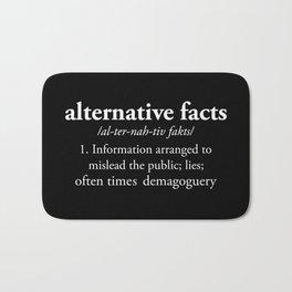 Alternative Facts Bath Mat