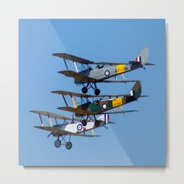Avalon Airshow - Tiger Moths Metal Print