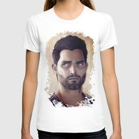 derek hale T-shirts featuring Teen Wolf - Derek Hale V1 by Caim Thomas