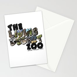 The Living Desert Zoo Big Letter Stationery Cards