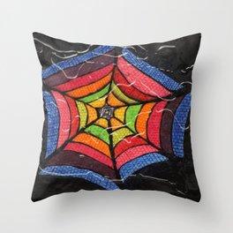 TOILE DE REVE Throw Pillow
