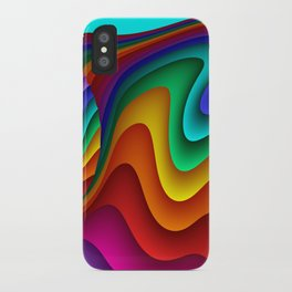 fluid -24- iPhone Case