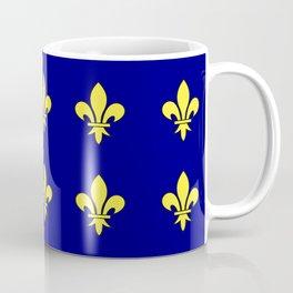 Fleur de lys 1-lis,lily,monarchy,king,queen,monarquia. Coffee Mug