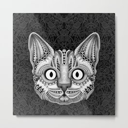 Egypt cat aztec pattern art iPhone 4 5 6 7, pillow case, mugs and tshirt Metal Print