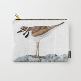 Killdeer Art 1 by Teresa Thompson Carry-All Pouch