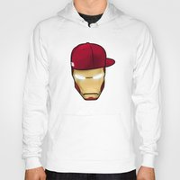 rap Hoodies featuring Rap man by Tony Vazquez