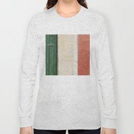Italian Street Wall Long Sleeve T-shirt