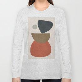 Abstract Balancing Stones Long Sleeve T-shirt