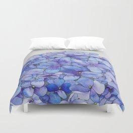 Watercolour Hydrangea Duvet Cover