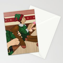 The Naughty List Stationery Cards