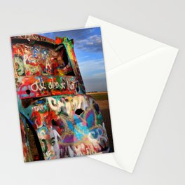 Parking Lot of Old Souls Stationery Cards