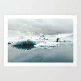 Jökulsárlón, Iceland Art Print