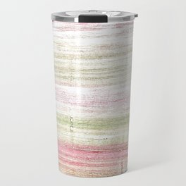 Dark vanilla abstract watercolor Travel Mug