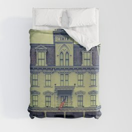 Goodspeed Opera House East Haddam Connecticut Theatre Duvet Cover