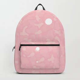 Light Pink Cammo Backpack