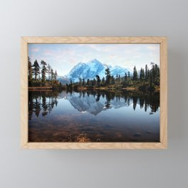 Mt Shuksan Framed Mini Art Print