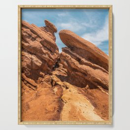 Garden of the Gods Rock Formation Serving Tray