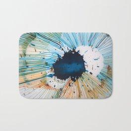 The Source of Blue Bath Mat