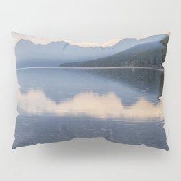 Early Morning at Lake McDonald - Glacier NP Pillow Sham