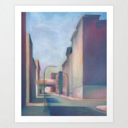 South Street Philadelphia Cityscape Art Print