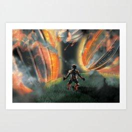 Fallen Sky Art Print