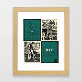 Laced - Up: Ken Griffey Jr. Poster  Framed Art Print