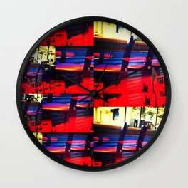 Barstools Wall Clock