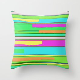 Side streets 2 Throw Pillow