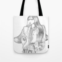 drink Tote Bags featuring Drink by Giulia Moscatelli