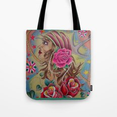Pirate Wench Tote Bag