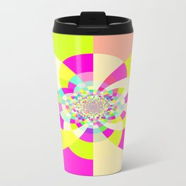 Bright & Pastel Kaleidoscope Travel Mug