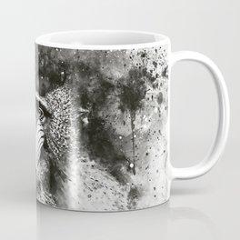 baboon monkey wsbw Coffee Mug