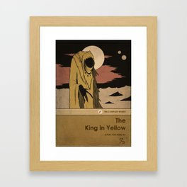 The King in Yellow Framed Art Print