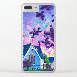 Anglican Catholic Church In Cambridge, New Zealand Clear iPhone Case