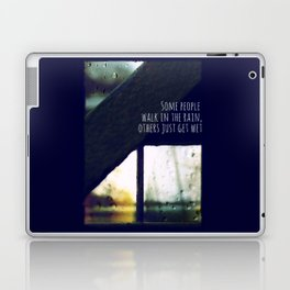 just another rainy day in paradise Laptop & iPad Skin